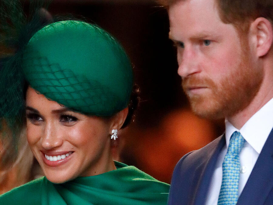 Meghan Markle y Harry en el Commonwealth Day Service 2020