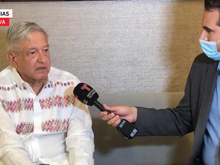 Entrevista exclusiva con el presidente Andrés Manuel López Obrador.