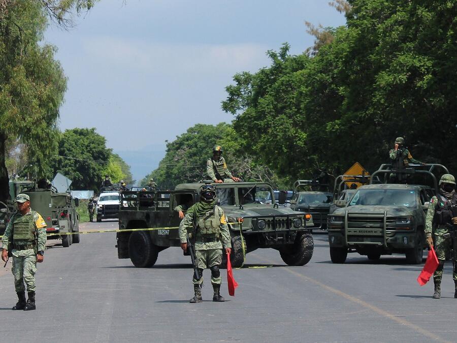 El Marro fue capturado en México junto a 8 ayudantes y una mujer secuestrada