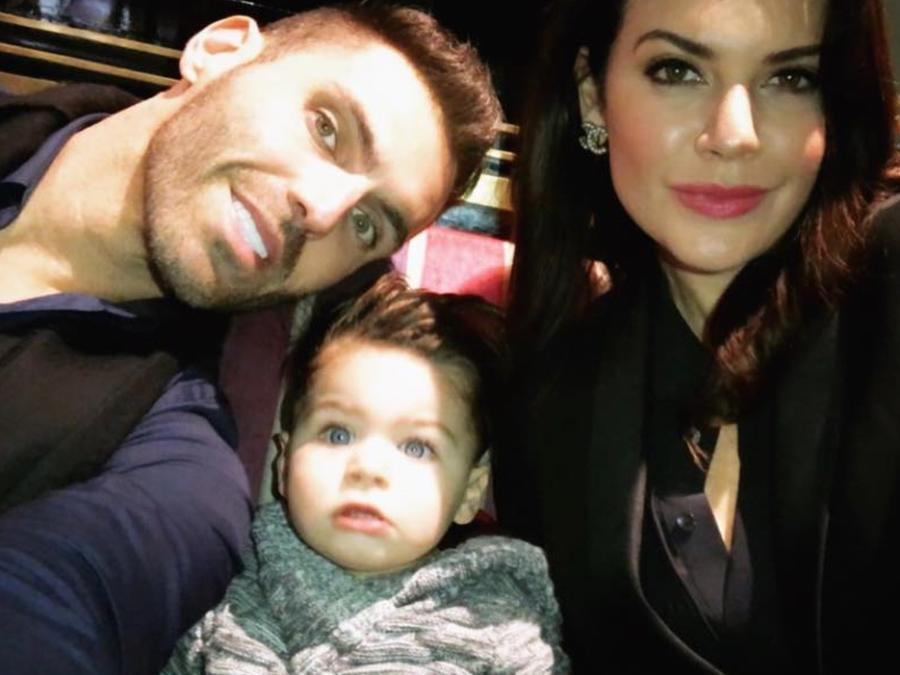 Angélica Celaya y su familia