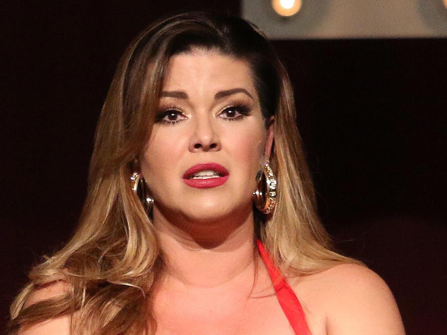 Alicia Machado en la obra Divinas