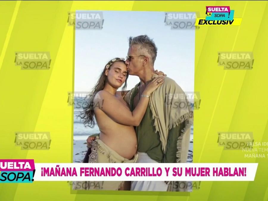 Fernando Carrillo será papá por segunda ocasión