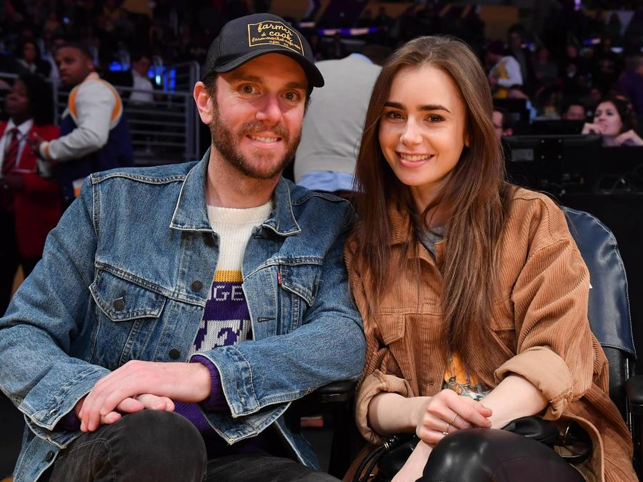 Lily Collins y Charlie McDowell
