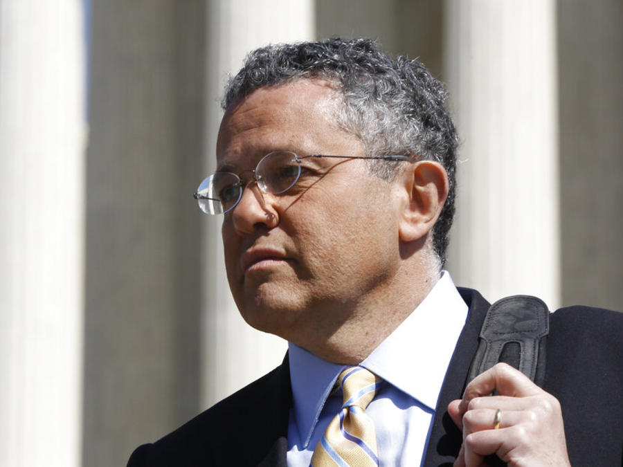 Jeffrey Toobin, escritor de la revista The New Yorker y analista legal de CNN