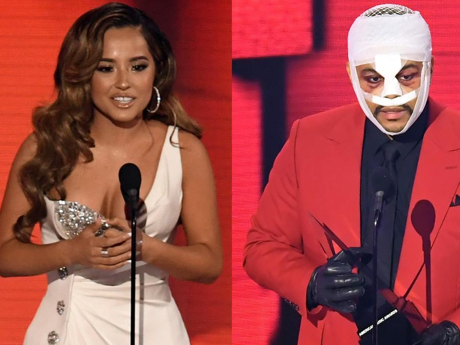Becky G, The Weeknd, American Music Awards 2020