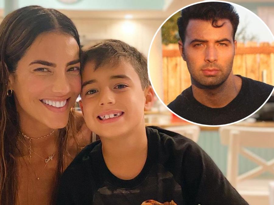 Gaby Espino, Jencerlos Canela y su hijo