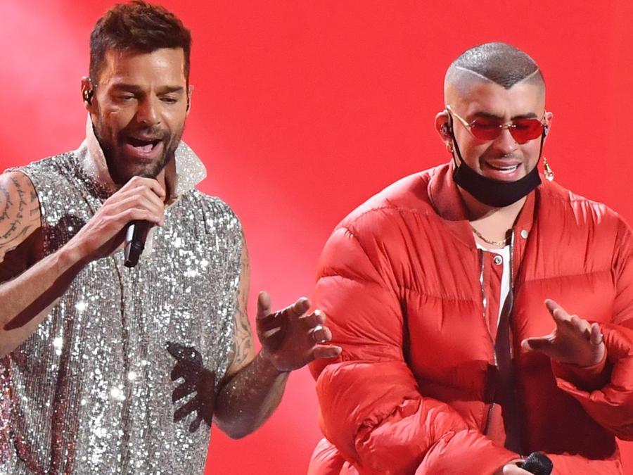 Ricky Martin y Bad Bunny Latin Grammys 2019
