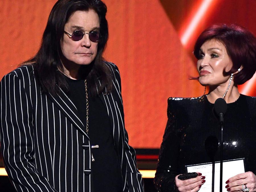 Ozzy Osbourne y Sharon Osbourne 2020