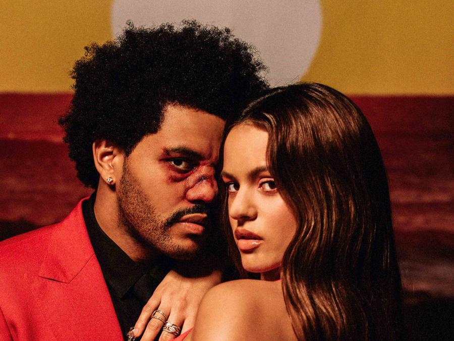 The Weeknd, Rosalía