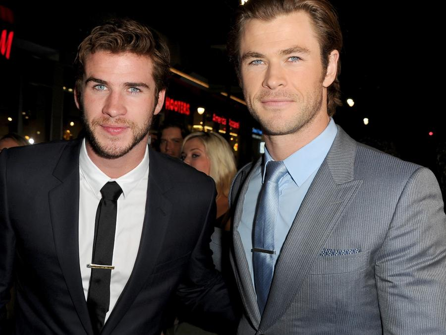 Liam Hemsworth y Chris Hemsworth