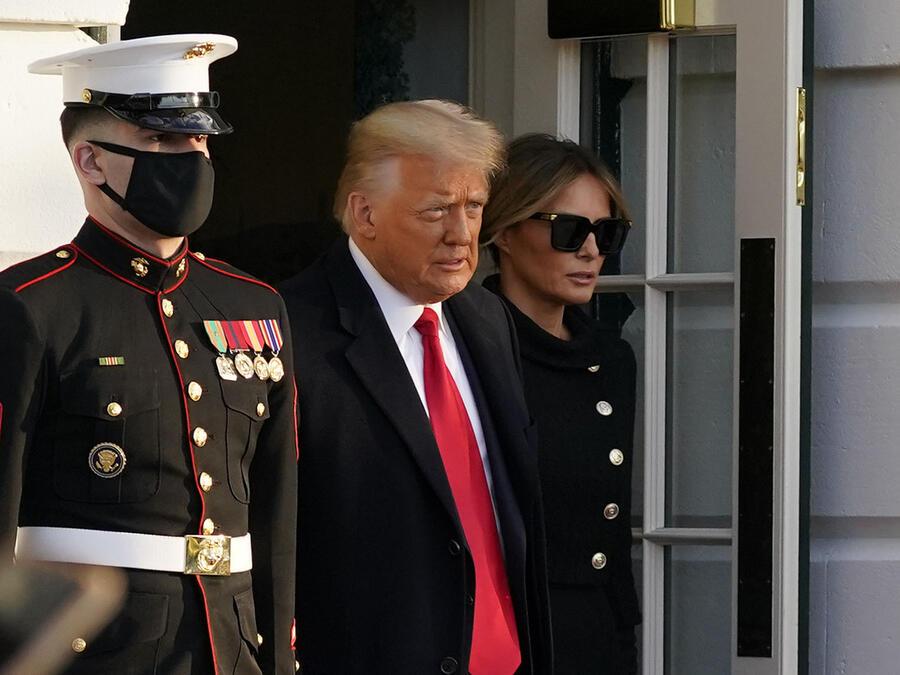 Donald Trump dejó la Casa Blanca el 20 de enero con un segundo juicio político en su contra aún pendiente.