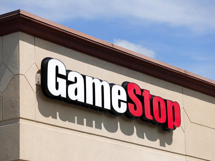 Imagen de archivo de una tienda de Gamestop