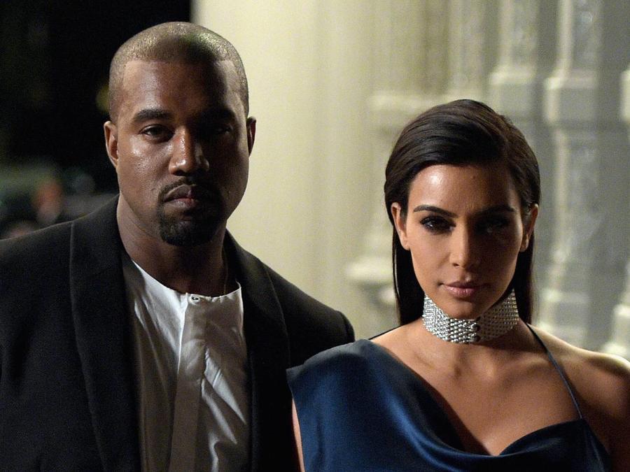 Kanye West y Kim Kardashian Los Ángeles 2018