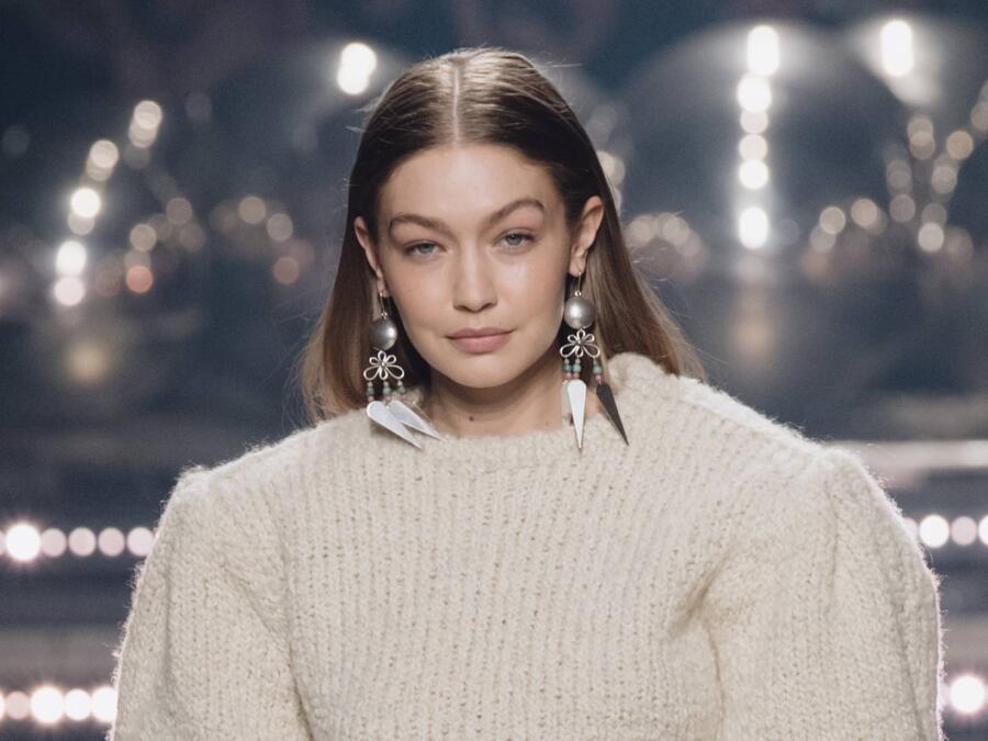 Gigi Hadid Paris, France 2021
