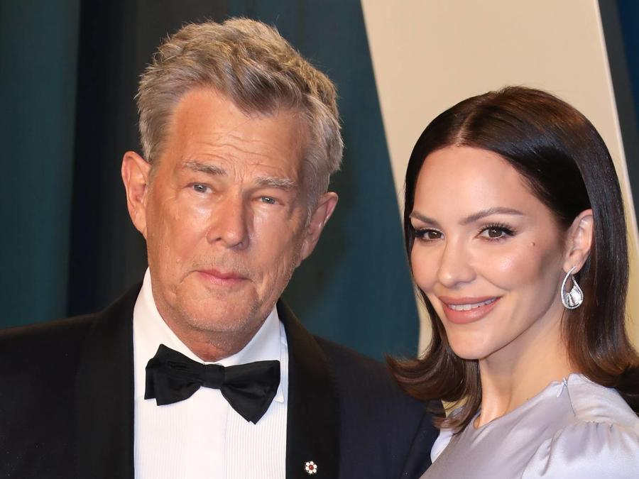 Katharine McPhee David Foster 2020 Vanity Fair party