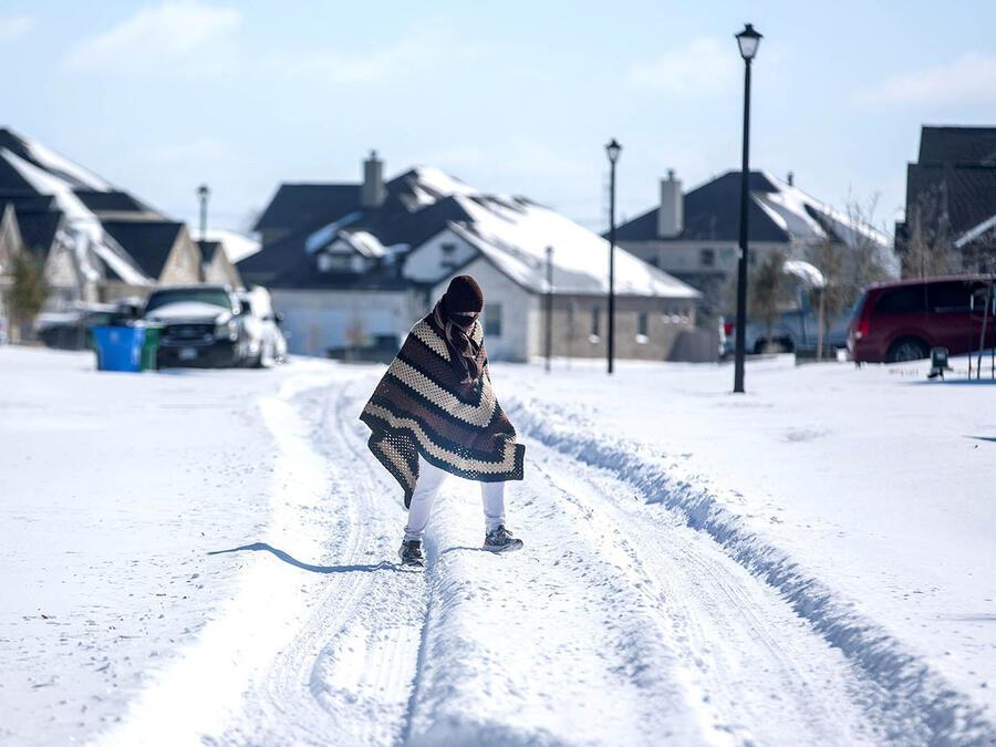 El histórico temporal de nieve y hielo que azotó Texas desde el 15 de febrero dejó a millones sin luz ni calefacción en medio de temperaturas congelantes (Archivo).