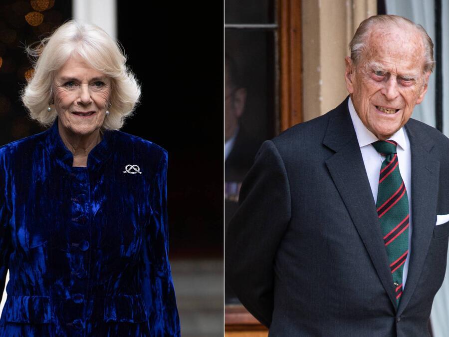 Duquesa Camilla; Príncipe Philip