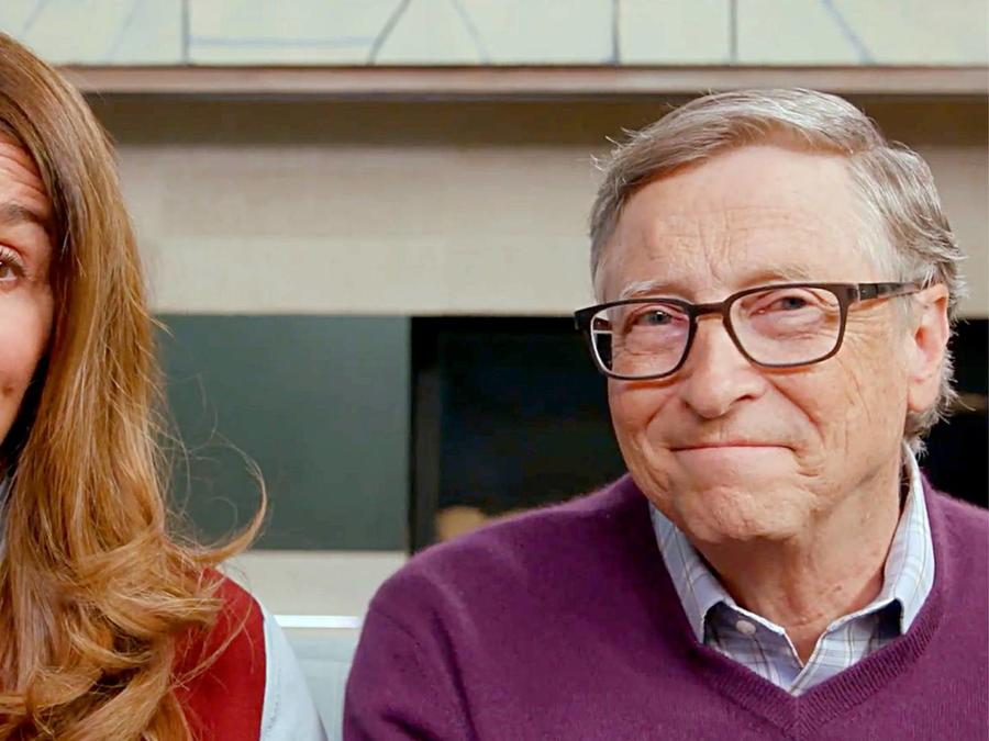 Melinda y Bill Gates en Global Citizen