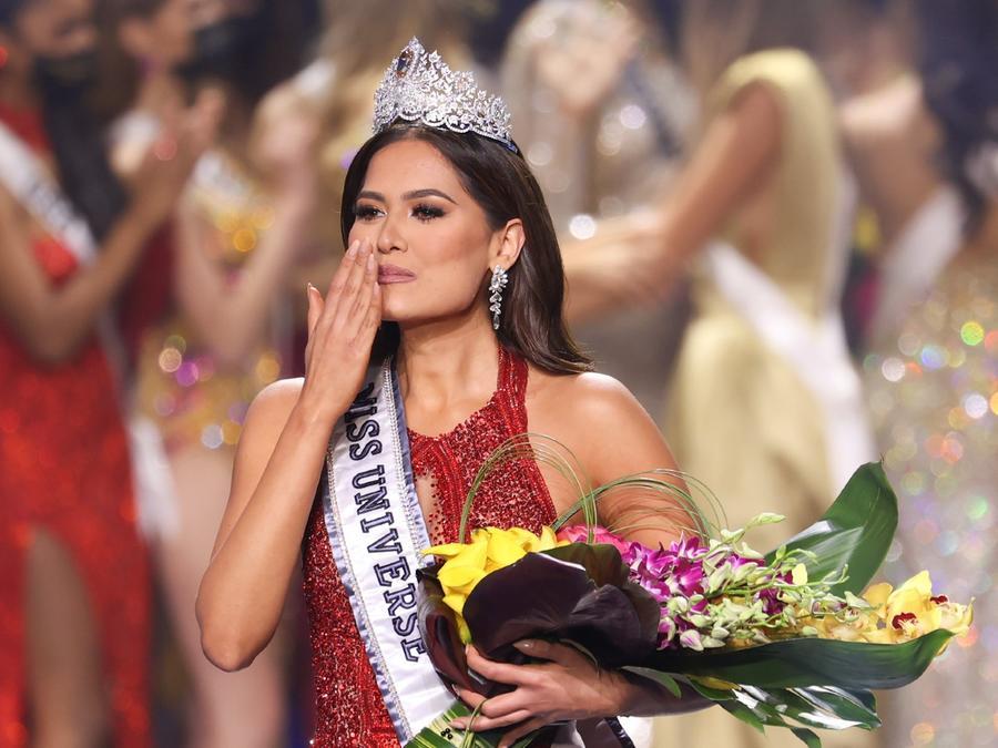 Andrea Meza, Miss México 2020, ganadora de Miss Universo 2021, 69na. edición