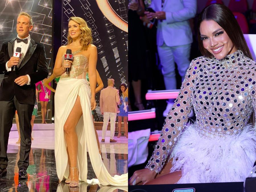 Carlos Ponce, Jacky Bracamontes y Zuleyka Rivera en Miss Universo 69na. edición