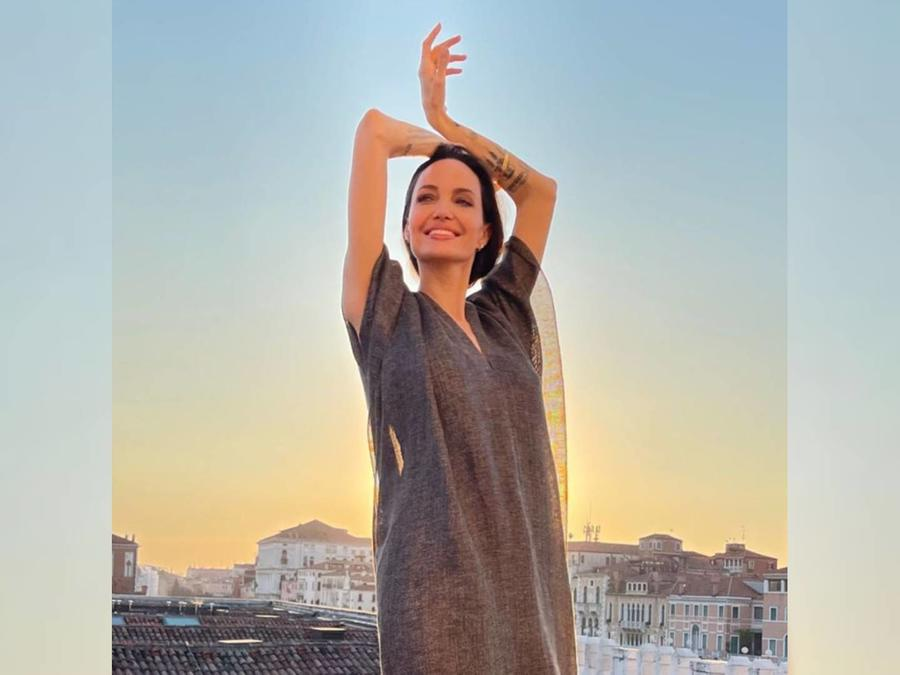 Angelina Jolie en Italia