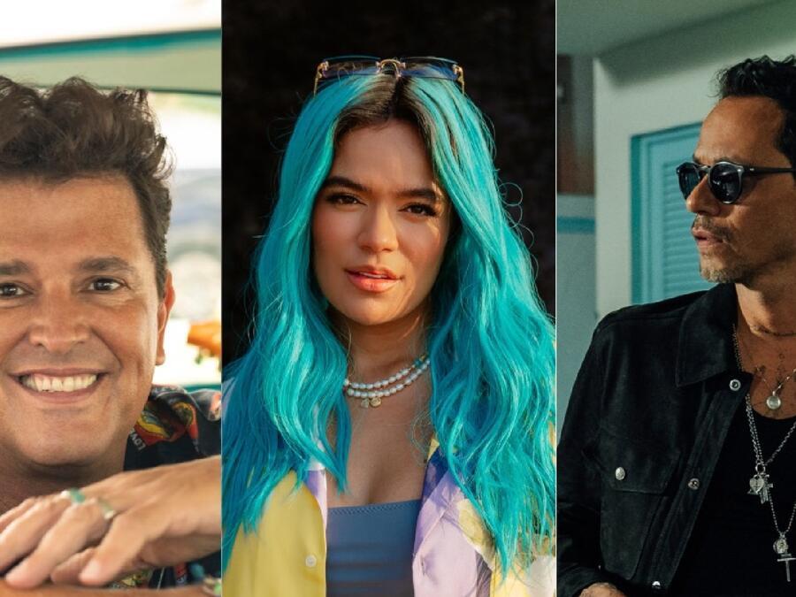 Carlos Vives, Karol G, Marc Anthony  y más artistas cantarán en los Premios Billboard 2021