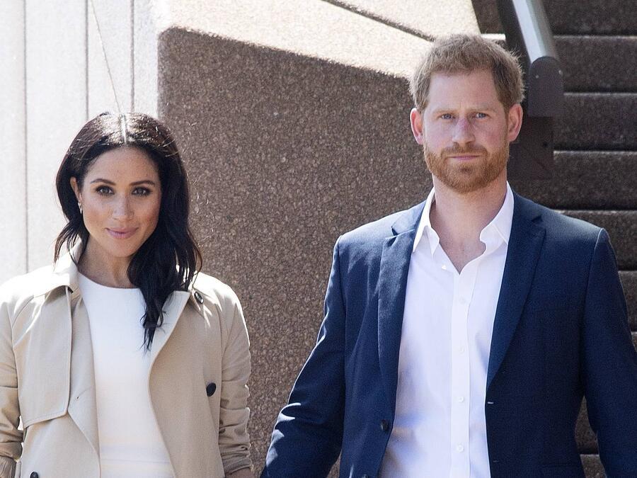 Harry y Meghan Markle Nueva Zelanda 2018