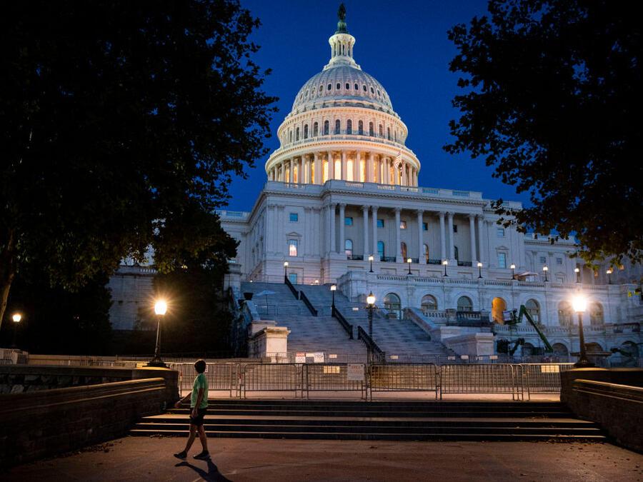 El Capitolio, sede del Congreso estadounidense, este domingo 19 de septiembre.