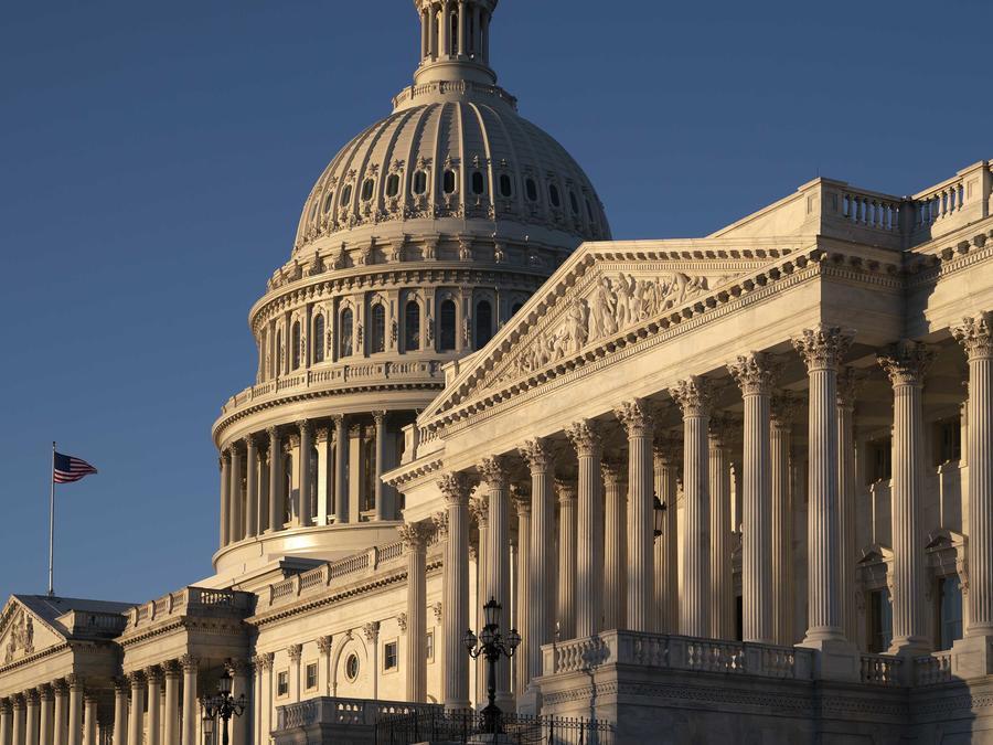 Una imagen del Capitolio en Washington D.C. el 25 de febrero de 2019