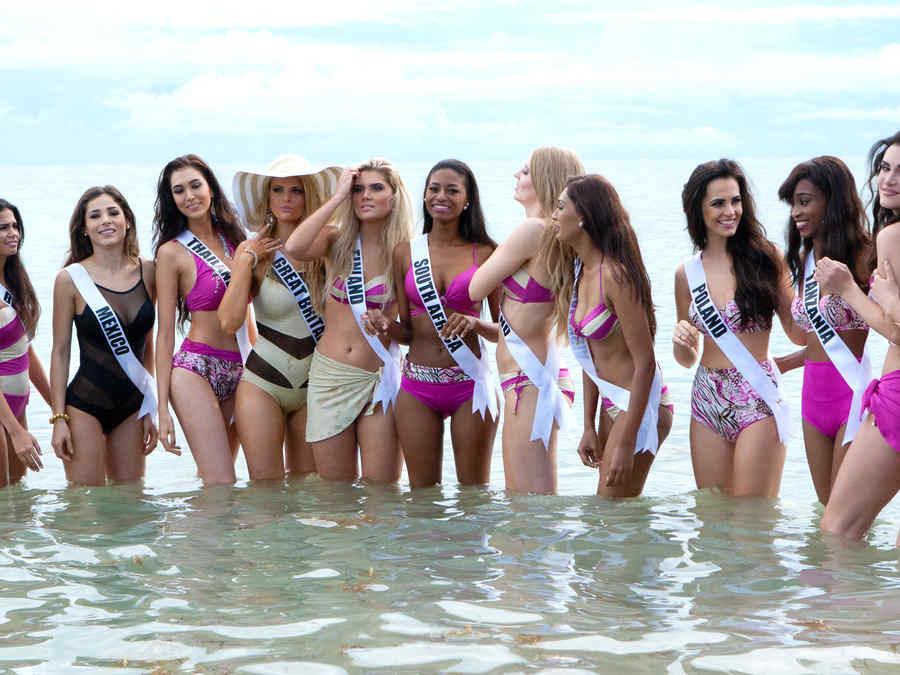 The 63rd Annual MISS UNIVERSE Pageant