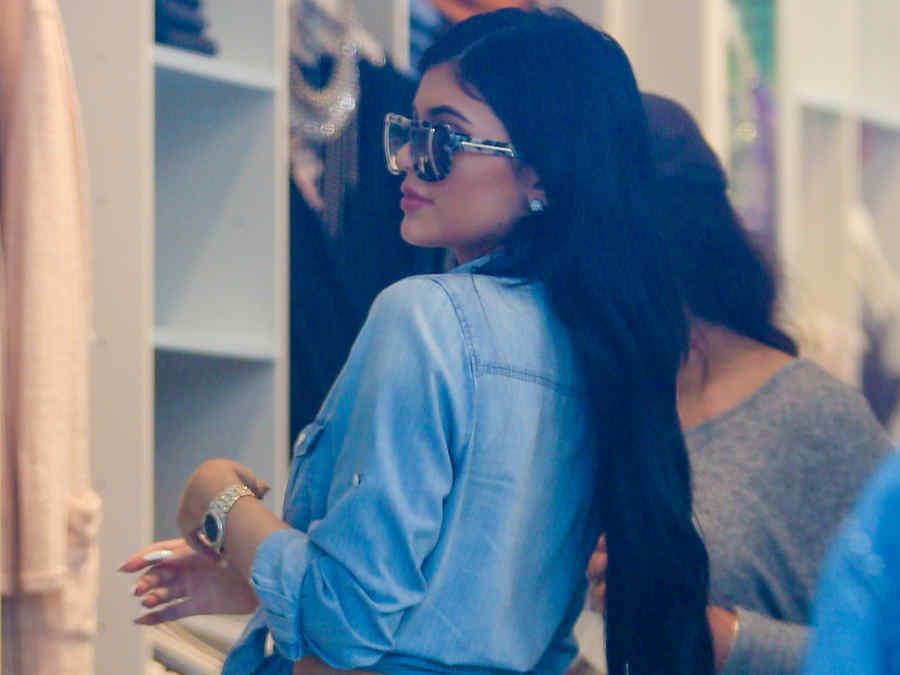 Kylie jenner de compras.