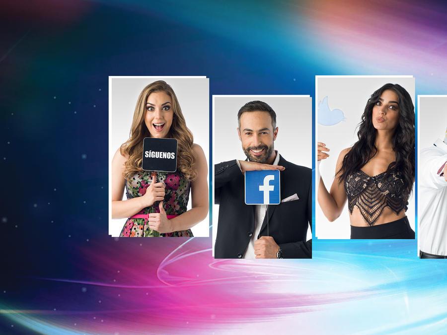 DL social de los concursantes de Sí Se Puede