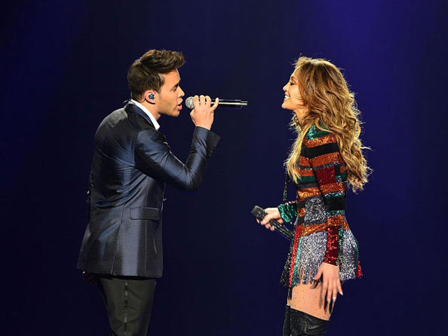 Prince Royce and Jennifer Lopez Latin Billboards