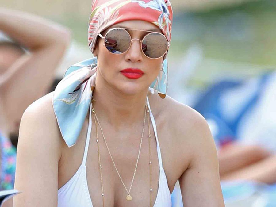 Jennifer Lopez en Miami Beach
