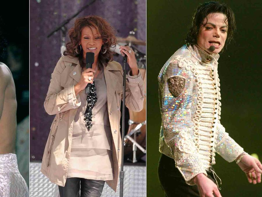 Prince, Michael Jackson, Whitney Houston