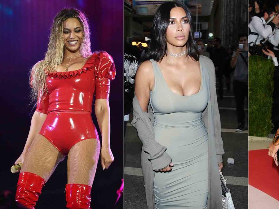 Beyoncé, Kim Kardashian y Margot Robbie