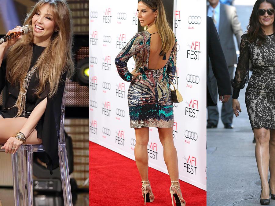 Thalia, Kate del Castillo y Salma Hayek entre las celebridades con las mejores piernas