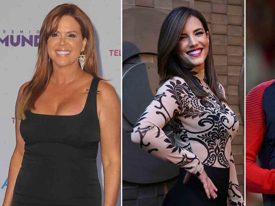 María Celeste Arrarás, Gaby Espino y Laurie Hernandez