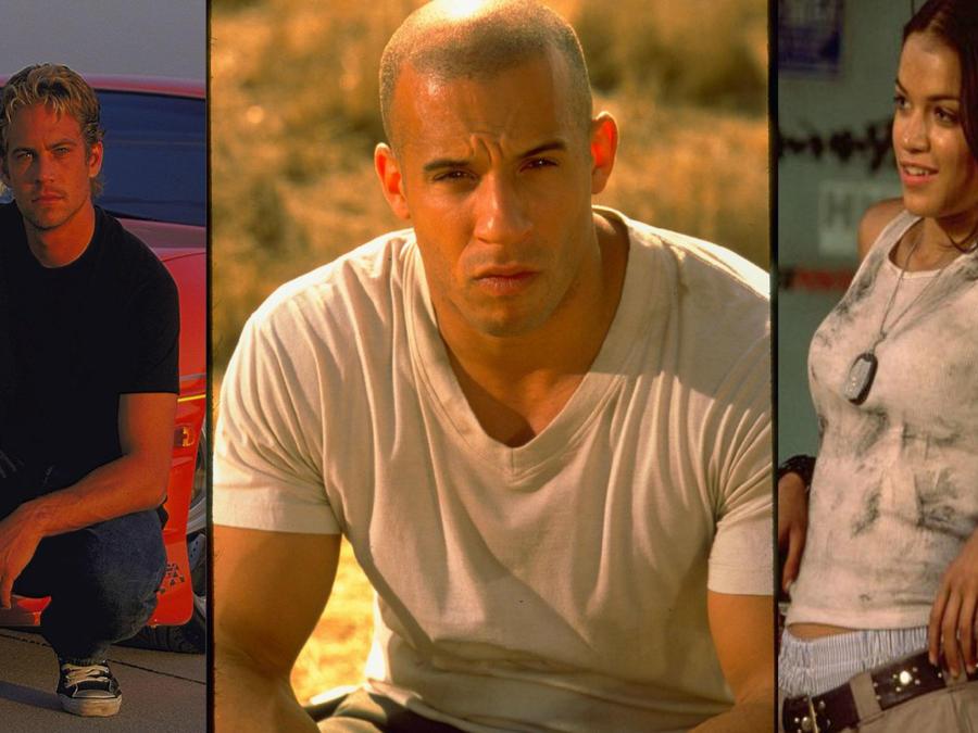 Paul Walker, Vin Diesel, Michelle Rodríguez