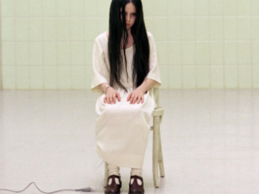 "Daveigh Chase en ""The Ring"", 2002"