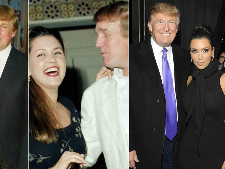 Donald Trump, Kim Kardashian, Jennifer Lopez, Alicia Machado