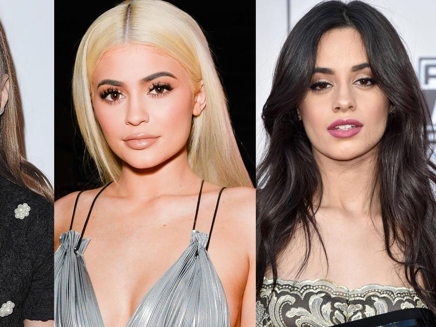 Maddie Ziegler, Kylie Jenner y Camila Cabello