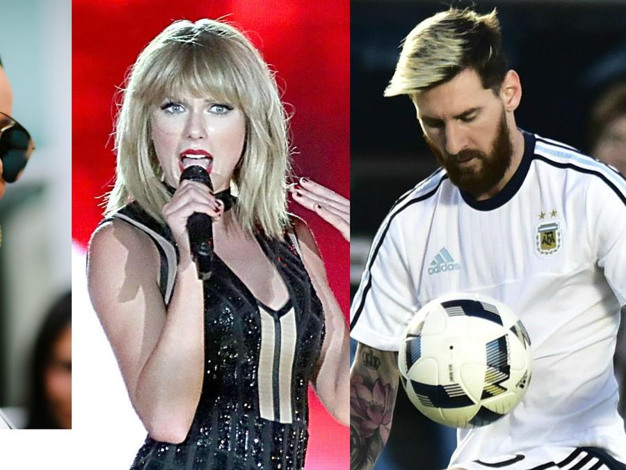 Rihhana, Taylor Swift, Lionel Messi entre las celebridades menores de 30 años más ricas