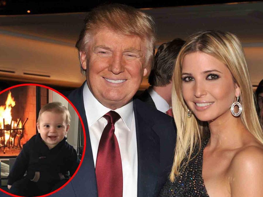 Ivanka Trump, Donald Trump y Theodore