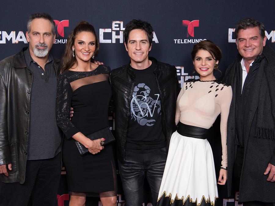 Preestreno, El Chema, elenco, Mauricio Ochmann, Mariana Seoane, Julio Bracho, Itatí Cantoral, Sergio Basañez