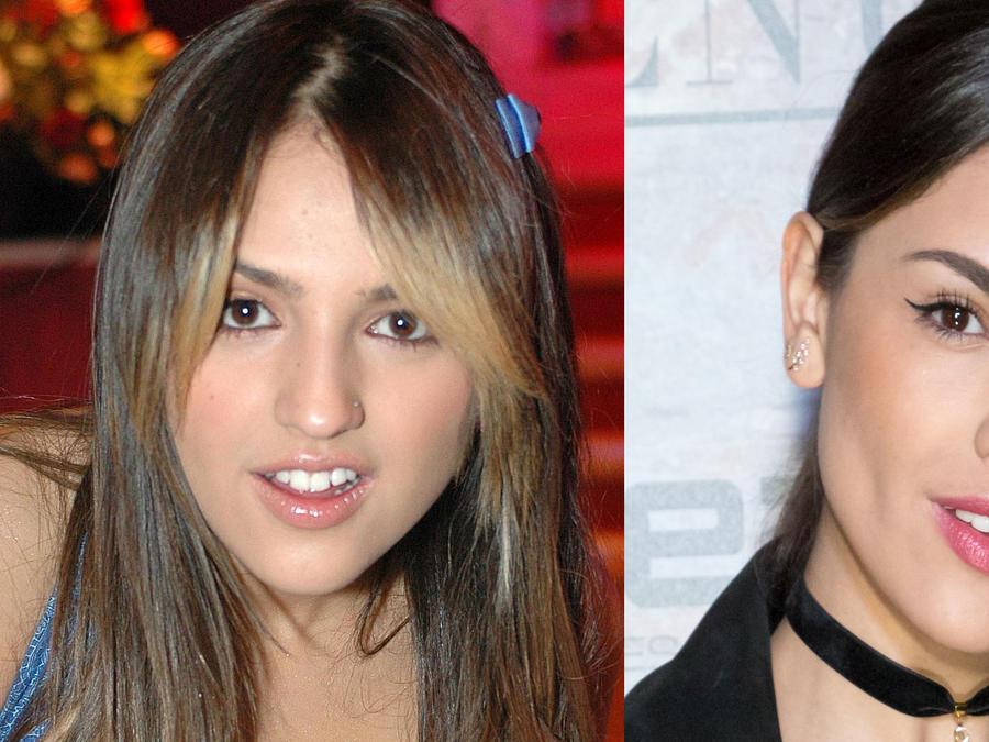 Eiza González antes y después
