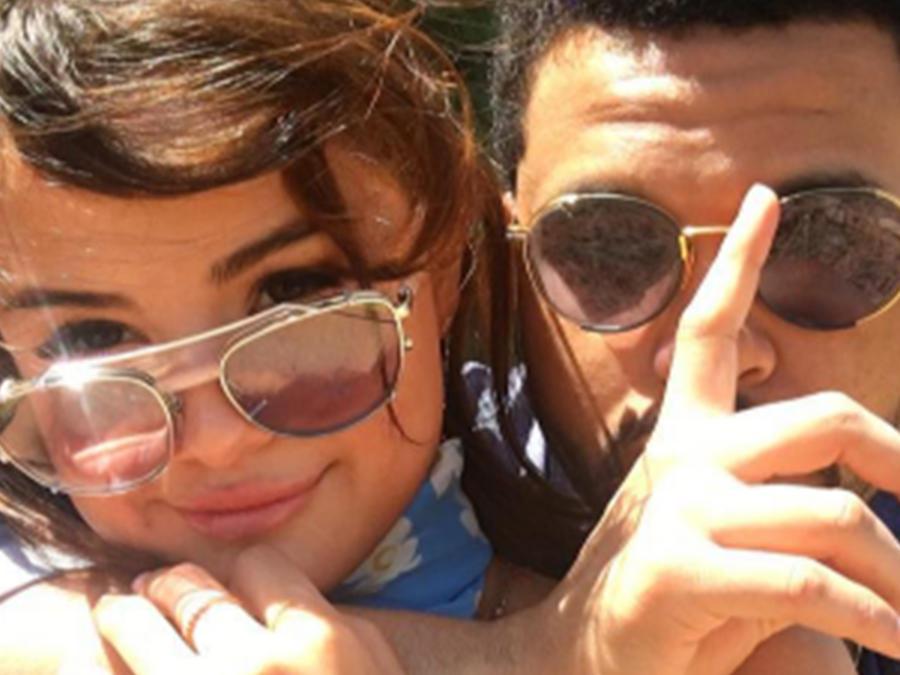 Selena Gomez y The Weeknd en el Coachella Valley Music And Arts Festival.