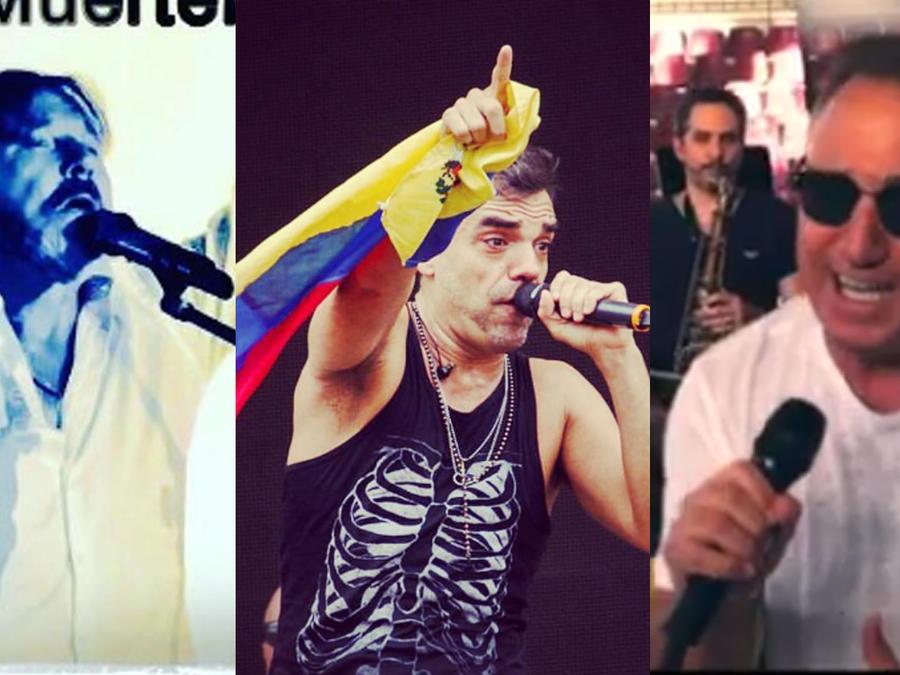 famosos celebran la independencia de Venezuela
