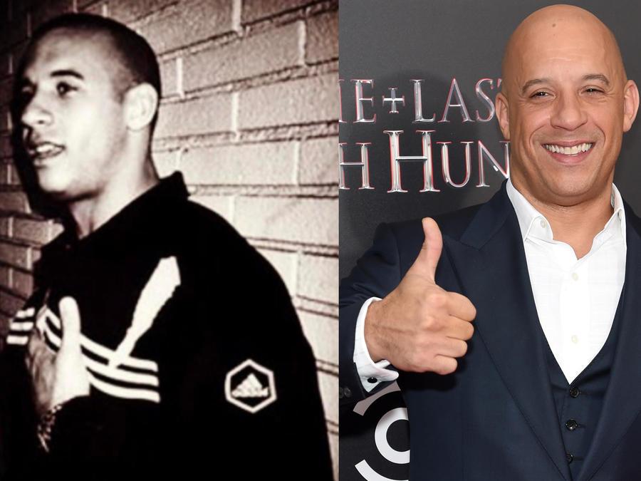 Collage de Vin Diesel