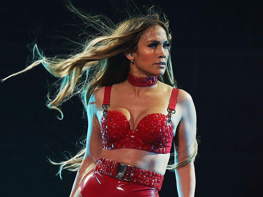 Jennifer Lopez en el concierto Tidal X